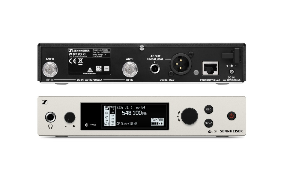 Sennheiser Ew300 G4 Me2 Lapel Mic System Hand Held Audio
